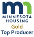 Minnesota Housing Gold Top Producer
