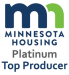 Minnesota Housing Platinum Top Producer